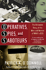 cover Operatives, Spies, and Saboteurs